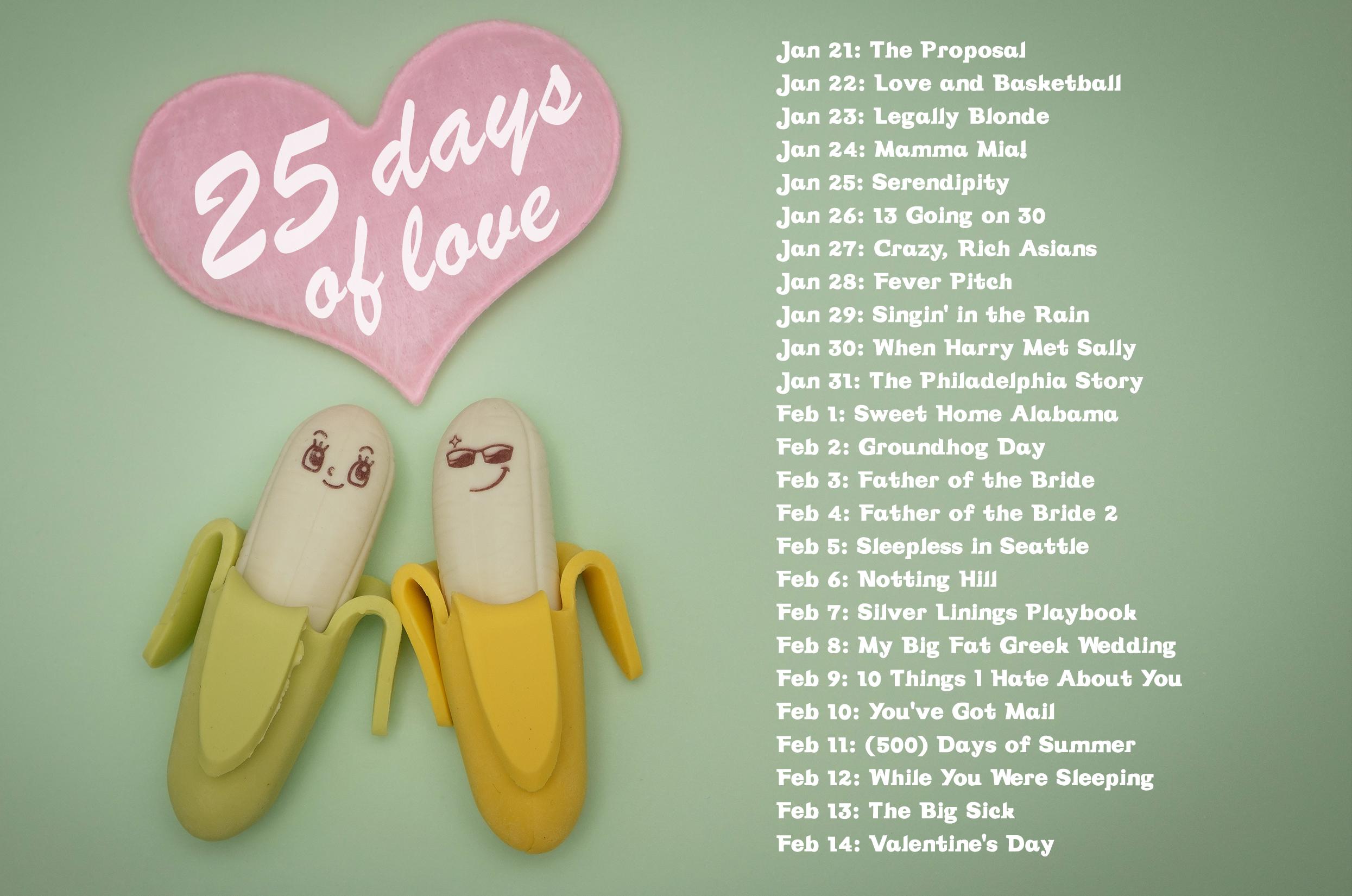 25 days love